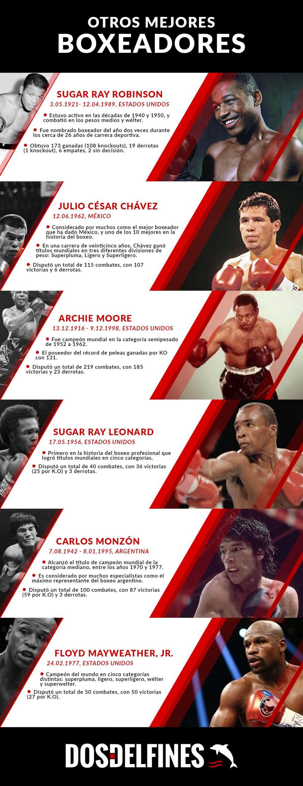 Top mejores boxeadores - dosdelfines.es
